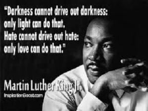 Martin Luther King Jr. hate and love quote
