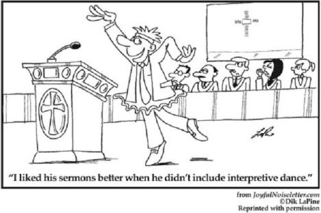 sermon interpretive dance