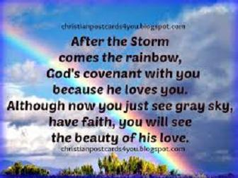 God's rainbow of His Love