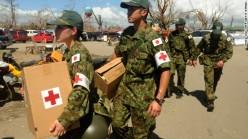 Japanese self-defense force carry medicine