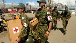 Japanese self-defense force carry medicine
