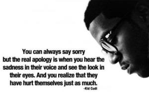 the real apology