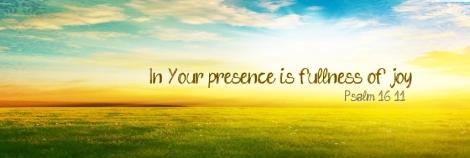 God brings fullness of joy