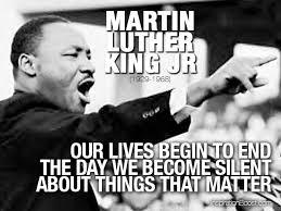 lives end silent Martin Luther King Jr