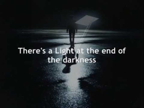 light at end of darkness