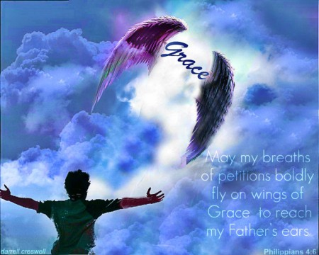 the wings of God's grace