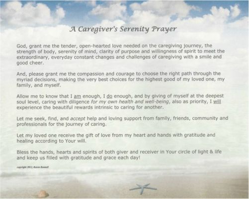 serenity prayer clearer